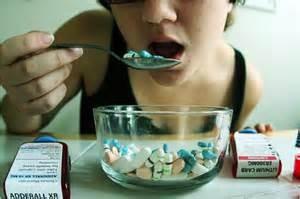 kid eating adhd medication