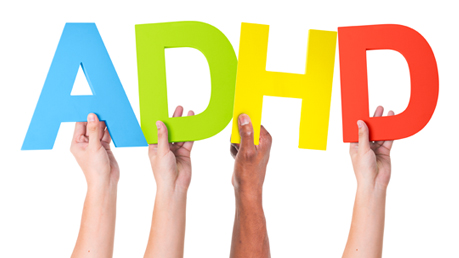 hyperactivity disorder adhd treatment signs with hands