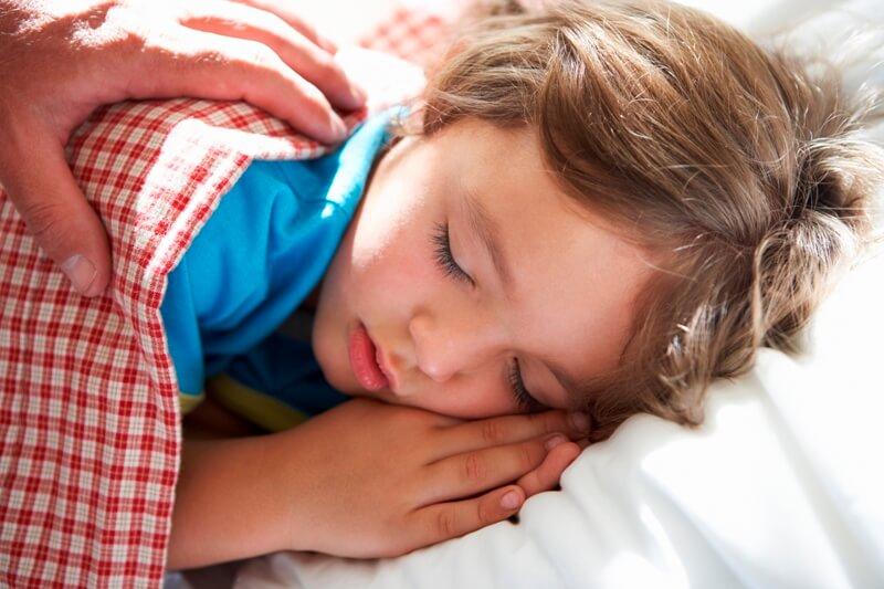 ADHD Morning Routine - waking a boy
