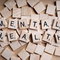 Mental health in Scrabble tiles